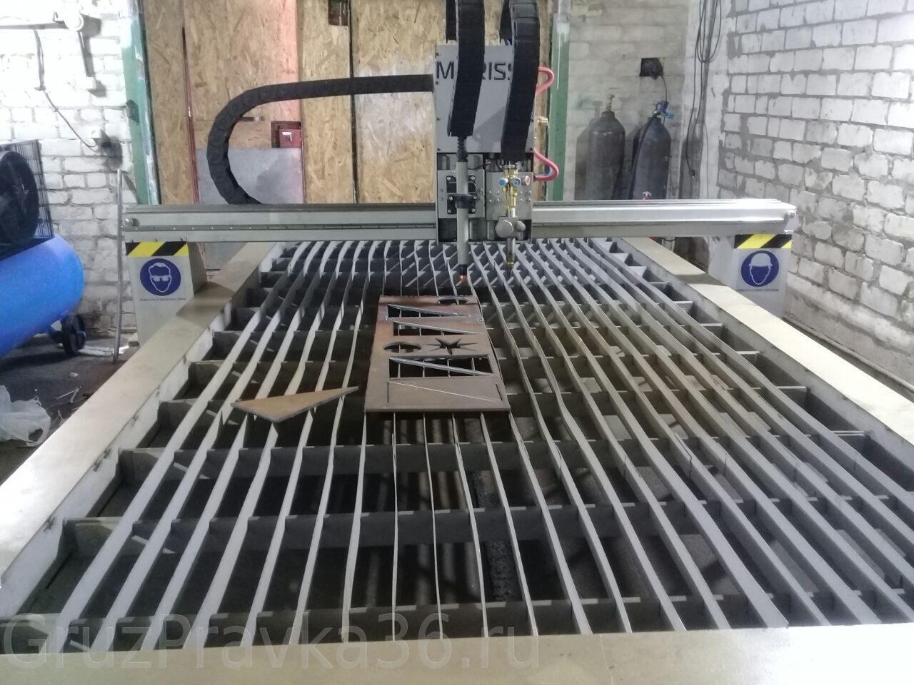 Плазменная резка и раскрой металла в Воронеже